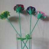 декоративни (хартиени) цветя