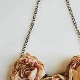 Колие Три златни рози