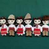 Хорце - текстилни кукли с народна носия