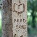 buy Книгоразделител от пирографирана дървена летвичка in Bazarino