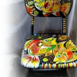 Рисуван детски стол