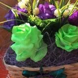 Букети с цветя - кошници