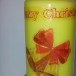 Коледна свещ