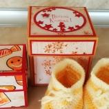 Коледна кутийка за бебе