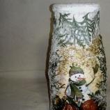 Коледна ваза