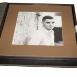 Кожена кутия с 10 броя снимки с хартиен гръб формат 20х20 см.