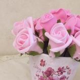 Цветя в саксия топиарий украса на подарък