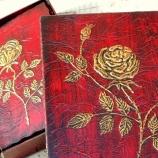 Албум за снимки и кутия - Роза
