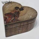 Кутия - сърце Влюбени феи