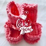 Бебешки вълнени чорапки