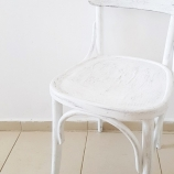 Стол винтидж бял