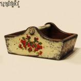 Дървен панер - кошничка Рустик