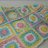 Плетено бебе  одеяло