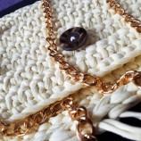 Плетена Чанта в Жълто