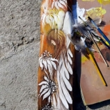 buy Ангел - картина върху дърво in Bazarino