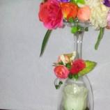 Аранжировка с изкуствени цветя