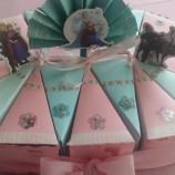 детска торта за рожден ден от картон