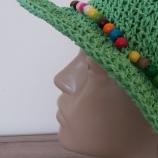 Плетена лятна шапка от Рафия