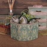 Великденска кошница принт Зайчета