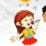 buy Ръчно рисувана памучна детска тениска, размер 7-8Y in Bazarino