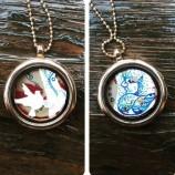 Медальон Две Лица
