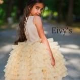 Ръчно изработена детска рокля Eivy's