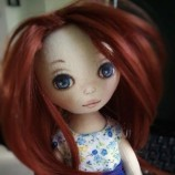 Текстилна кукла Али