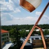Настолна лампа, ръчно изработена