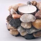 Свещници от камъни