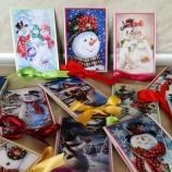Коледни pop-up картички