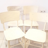 Столове винтидж слонова кост