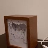 Ръчно изработена светеща рамка