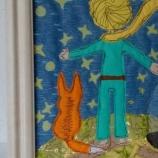картина от текстил