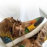 Рисувани обувки в Бохо стил