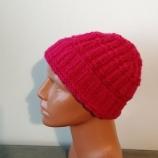 Ръчно плетена топла шапка