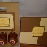 buy Подарък за Кръстници- Старинна книга с икона/ снимка и поздрав in Bazarino