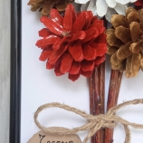 Подарък за Рожден Ден от шишарки