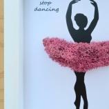 Подарък за балерина със скандинавски мъх