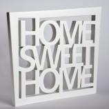 HOME SWEET HOME  - white