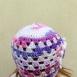buy Плетена детска шапка с цвете in Bazarino
