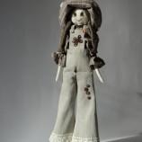 Елизабет е текстилна кукла, ръчно изработена, чудесен подарък