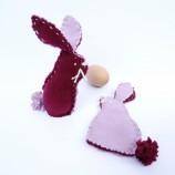 Великденско зайче - украса за яйце