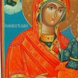 Св. Богородица Вратарница Иверска. Икона от Света Гора от 1815г.