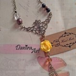 {Royal Yellow Necklace}