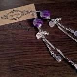 {Purple Earrings}