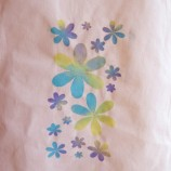 Ръчно рисувана памучна торбичка