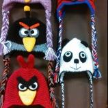 Детски плетени шапки