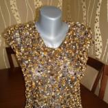 Плетена дамска блуза без ръкави - ръчно изработена