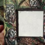 Дървена мини рамка за снимки