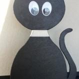 Котка по хелоуински